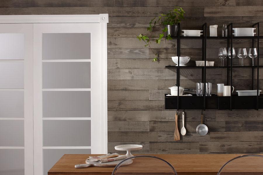wandverkleidung holz grau bs holzdesign. Black Bedroom Furniture Sets. Home Design Ideas