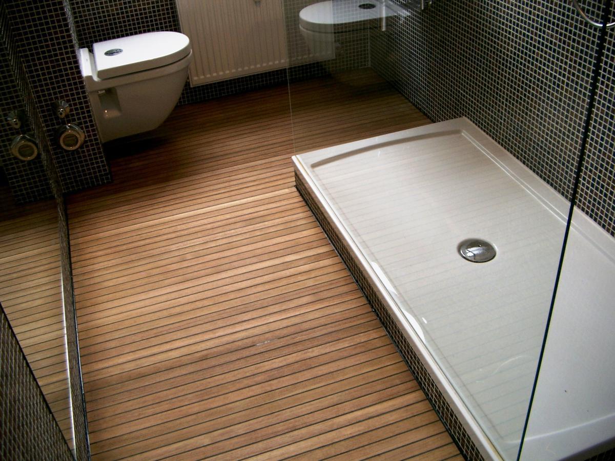 Teak Gummifuge Bs Holzdesign
