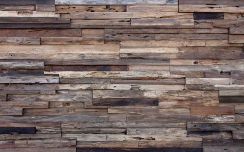 Holz Wandverkleidung W