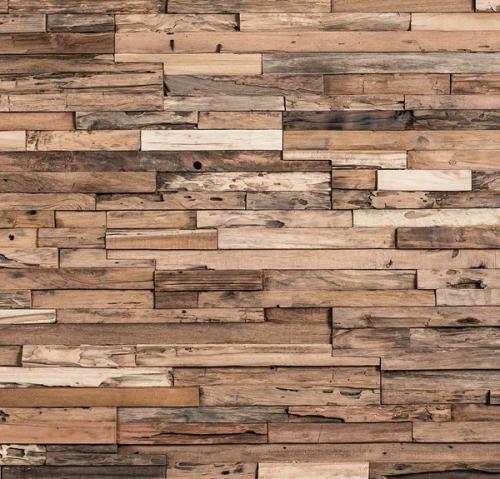 Holz Wandverkleidung innen rustikal modern W