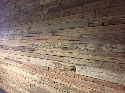 Altholz gehackt Fichte Wandverkleidung