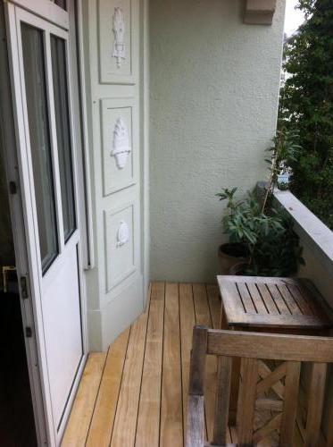 Balkon Holz