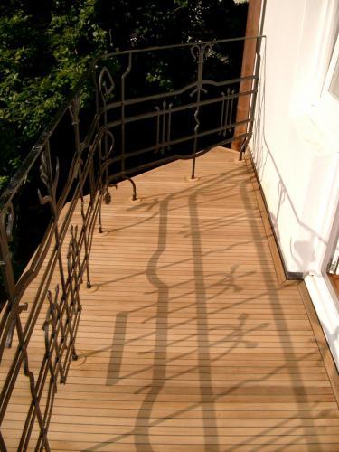 Balkon Teak