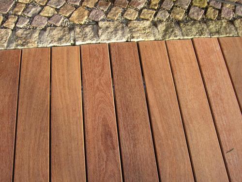 Cumaru-Holz Terrasse