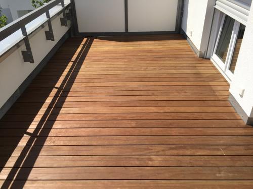 Dachterrasse Holz ohne schrauben ohne splitter