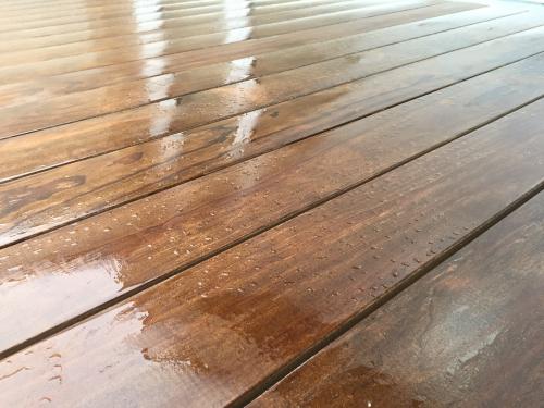 Dachterrasse Holzbelag spreisselfrei ohne splitter