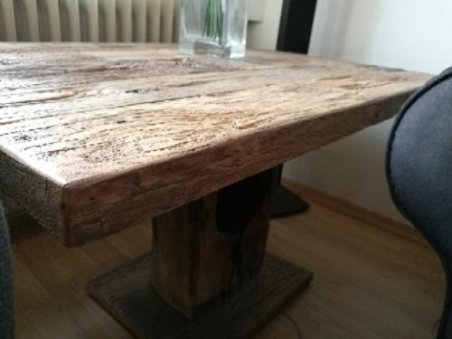 Esstisch Altholz