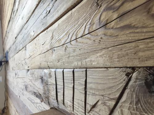 Fichte gehackt Altholz Bretter Wandverkleidung (8)