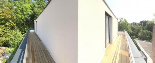 Holz Dachterrasse