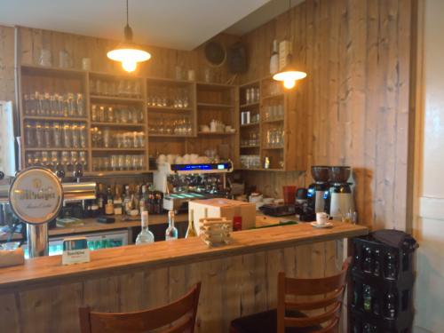 Holz Wand Bar