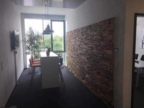 Holz Wand Flur