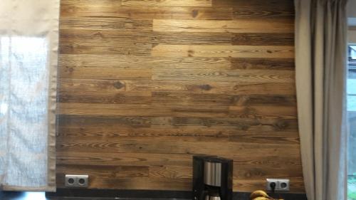 Holz Wand Küche