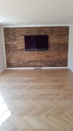Holz Wand TV (1)