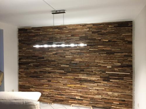 Holz Wandverkleidung rustikal