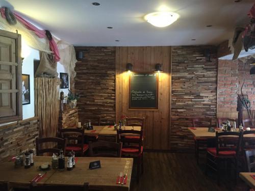 Holz Wand mediteran rustikal