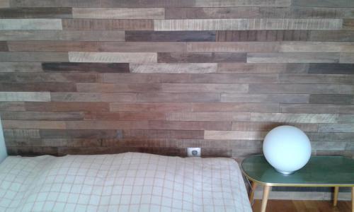 Holz glatt Wand