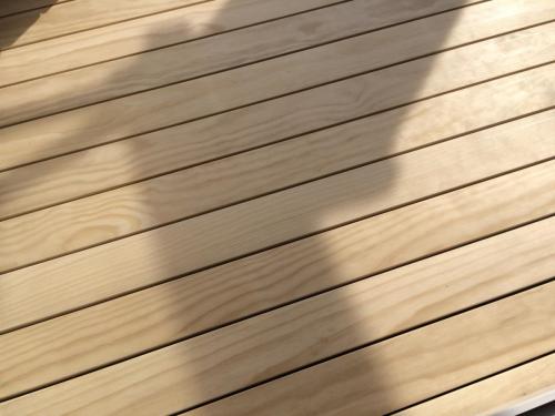 Holzboden Dachterrasse ohne  Schrauben