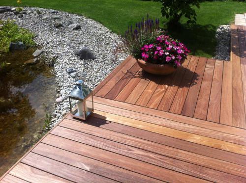 Holzterrasse Cumaru Premium