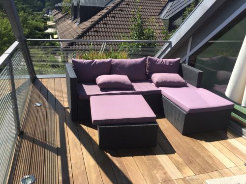 Holzterrasse Garten Lounge