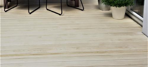 Holzterrasse hell ohne Schrauben
