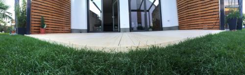 Holzterrasse ohne Schrauben