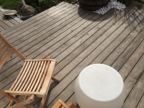 Holzterrasse ohne schrauben verlegen