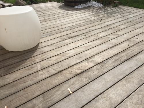 Holzterrasse verlegen ohne Schrauben