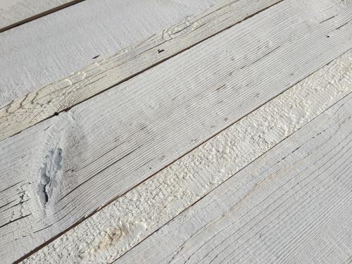 Profilholz weiss