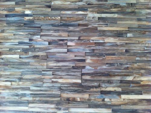 Teak Holz Wandverkleidung (1)