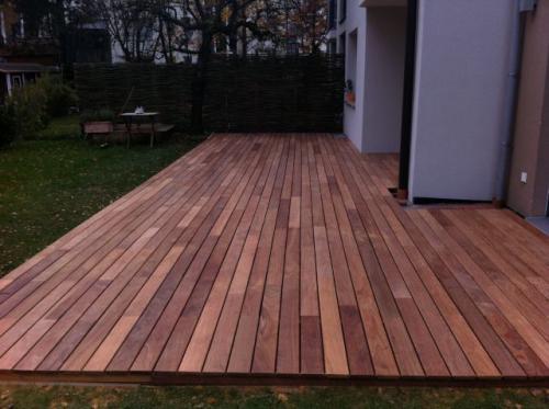 Terrassenbau fertig