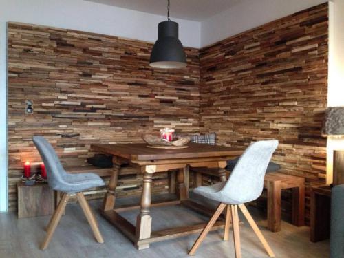 Wand Holz Hütte