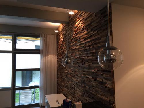 Wand Holz Licht