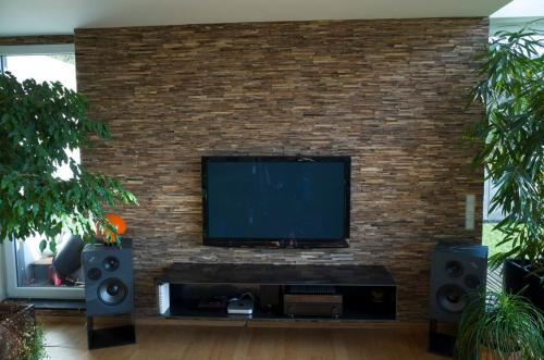 Wand Verkleidung TV