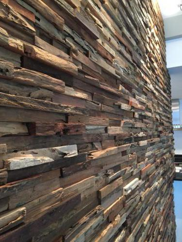 rustikale Holz Paneele