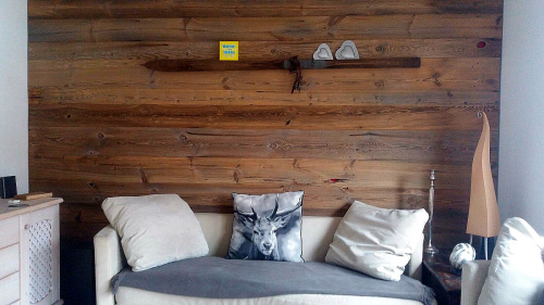 sonnenverbrannt Altholz Bretter Wandverkleidung